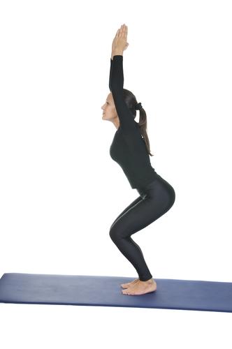 Yoga posture chair massage magazine for Chaise quadriceps